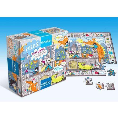 Endo. Puzzle 200 Epoka smoka GRANNA, AM_5900221002447