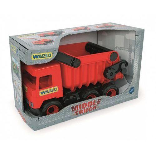 Middle Truck Wywrotka czerwona w kartonie - Wader, WAD-32111