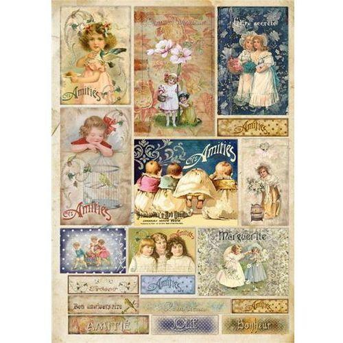 Papier klasyczny do decoupage Stamperia 50x70 cm - 390