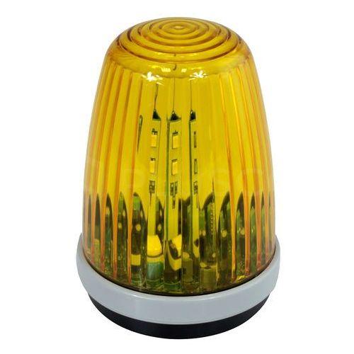 Import Lampa ostrzegawcza led zasilana 12-24v dc/ac i 85-265v dc/ac z anteną bez uchwytu żółta