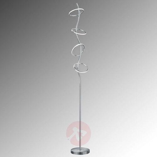Trio OLYMPUS Lampa stojąca LED Chrom, 4-punktowe - Nowoczesny - Obszar wewnętrzny - OLYMPUS - Czas dostawy: od 2-4 dni roboczych (4017807330632)