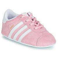 Trampki niskie adidas GAZELLE CRIB, kolor różowy