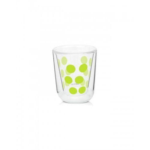 Szklanka z podwójną ścianką 75 ml zielona zak! design marki Zak! designs