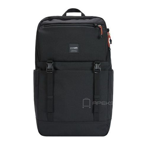"Pacsafe Slingsafe LX500 plecak miejski na laptop 15"" RFID / Black - Black (0688334035860)"
