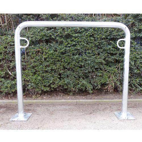 Pałąk wsporczy do rowerów, wys. 850 mm ponad podłożem, do zakotwienia, ocynkowan