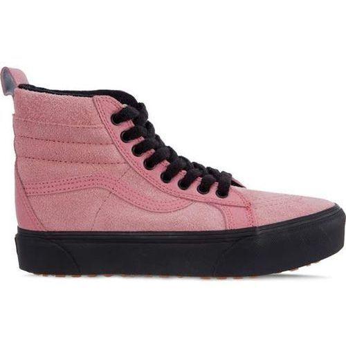 sk8 hi platform mte uce desert rose black - buty sneakersy marki Vans