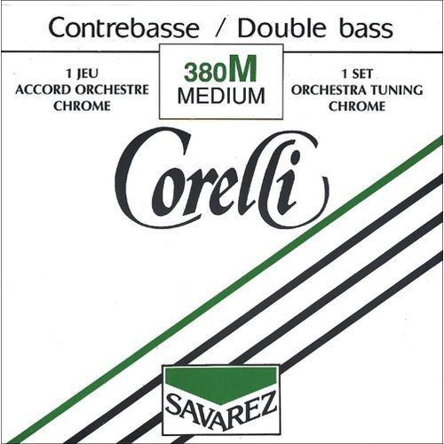Savarez (642170) Corelli struna do kontrabasu (orkiestrowe) - G (4/4 i 3/4) średni - 381M