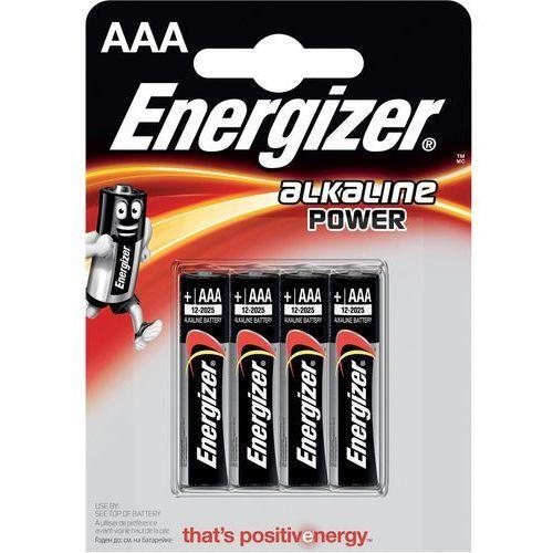 4 x bateria alkaliczna base power seal lr03/aaa (blister) marki Energizer