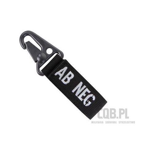 Brelok Condor z grupą krwi AB- Blood Key Chain Czarny 239AB-002