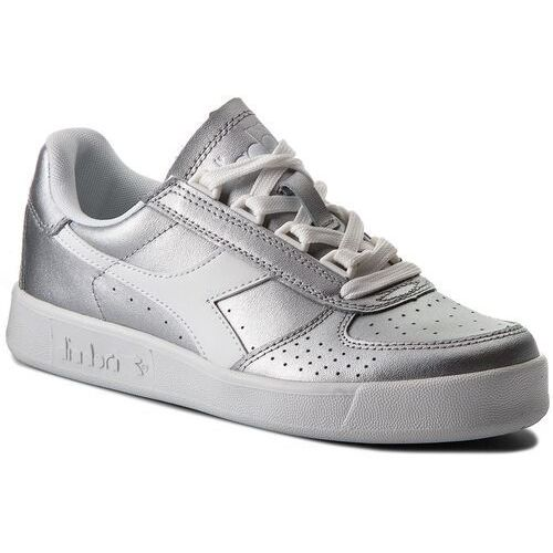 Sneakersy - b.elite l metallic wn 501.173209 01 90001 silver metalized marki Diadora