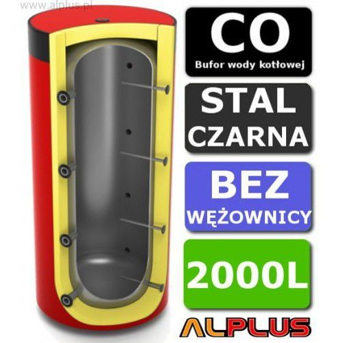 Bufor LEMET 2000L Bez Wężownicy do CO - Zbiornik Buforowy Zasobnik Akumulacyjny 2000 litrów - Wysyłka Gratis, 16.2000B-0