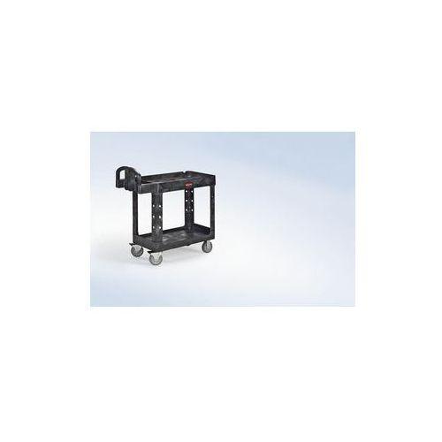 Uniwersalny wózek stołowy z tworzywa,z wgłębieniem wannowym marki Rubbermaid