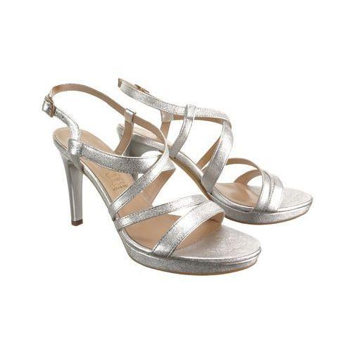 9176 1476 srebrny, sandały damskie, Sala