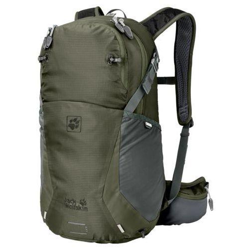 moab jam 24 plecak podróżny woodland green marki Jack wolfskin