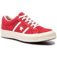 Sneakersy CONVERSE - One Star Academy Ox 163270C Enamel Red/Egret/Egret, kolor czerwony