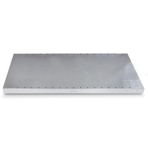 Gebrüder schulte Dodatkowa półka ocynkowana, wys. krawędzi 40 mm, opak.: 2 szt., szer. x głęb. 13