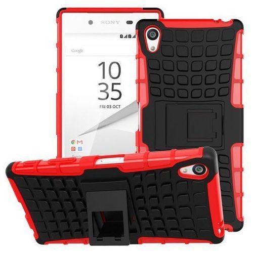Perfect Armor Czerwony | Pancerna obudowa etui dla Sony Xperia Z5 - Czerwony