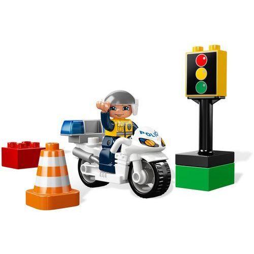 Lego DUPLO Motocykl policyjny 5679