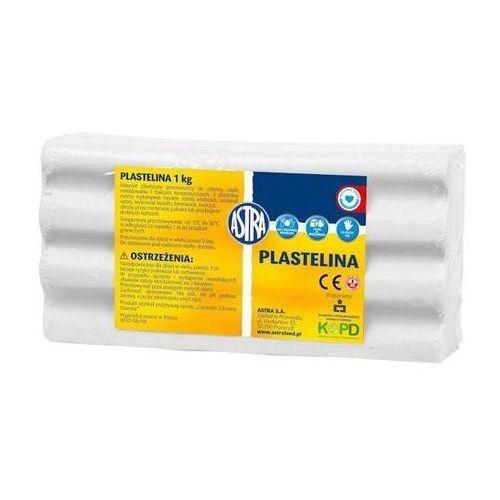 Astra Plastelina 1kg , biała 303111001