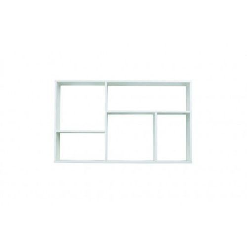 WOOOD:: Półka wisząca MEIKE biała