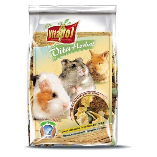 Vitapol Zielone warzywa dla gryzonia i królika 150g, 6911