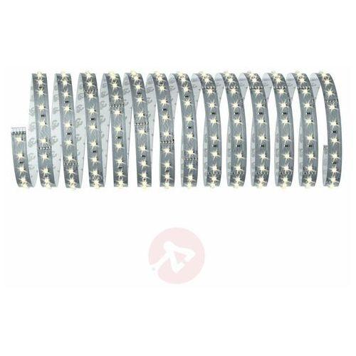 Taśma LED zestaw podstawowy ze złączem męskim 24 V 500 cm ciepły biały Paulmann MaxLED 500 70604, kolor biały