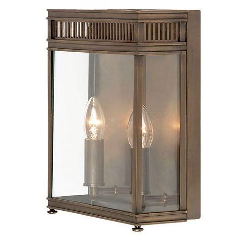 Zewnętrzna lampa ścienna holborn hl7/m db rustykalny kinkiet metalowa oprawa elewacyjna ip44 outdoor ciemny brąz marki Elstead