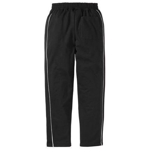 Spodnie dresowe bonprix czarny, dresowe