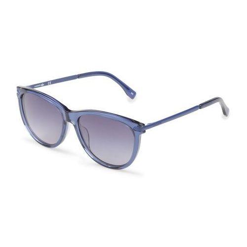 Okulary przeciwsłoneczne damskie LACOSTE - L812S-89, kolor żółty