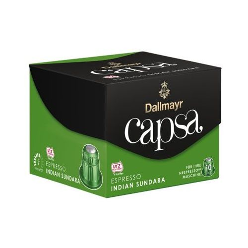 capsa 10szt espresso indian sundara kawa w kapsułkach marki Dallmayr. Najniższe ceny, najlepsze promocje w sklepach, opinie.