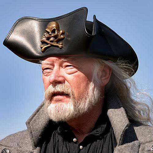 Piracki skórzany kapelusz (ws200664), Płatnerze