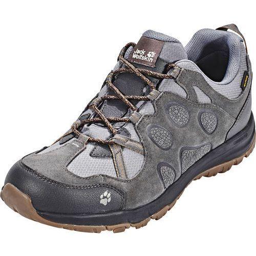 rocksand texapore buty mężczyźni szary uk 9,5 | eu 44 2018 buty turystyczne marki Jack wolfskin