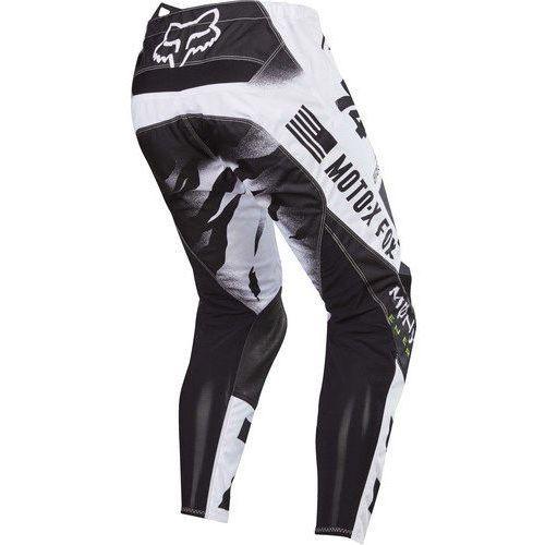 Spodnie 180 pro circuit se white/black/green marki Fox