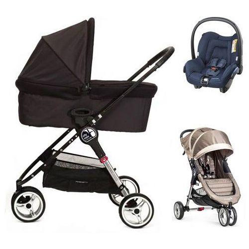 city mini+gratis+gondola+fotelik (do wyboru) marki Baby jogger