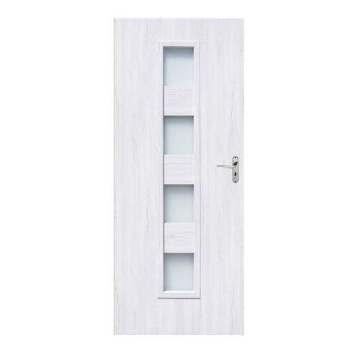 Drzwi pokojowe Alicja 70 lewe silver