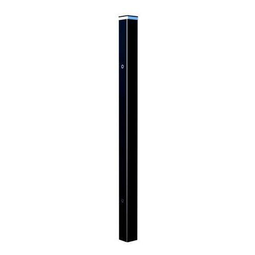 Słupek ogrodzeniowy LED 10 x 10 x 220 cm RAL9005 (5902360127708)