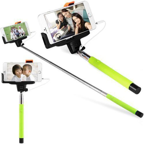 Gearbest Fashionable self - timer stretch camera monopod with clip 20cm audio cable, kategoria: kijki do selfie