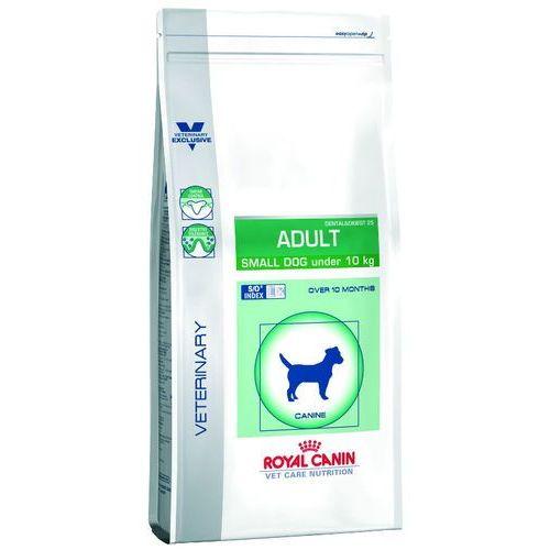 dog adult small dog dental&digest 25 8kg wyprzedaż [data ważności: 13.12.2018] marki Royal canin vet
