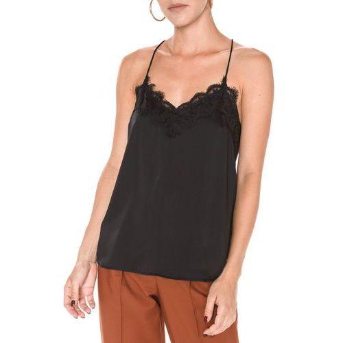 Vero Moda Carolina Top Czarny M, kolor czarny