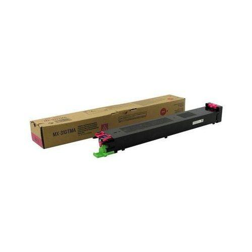 Toner oryginalny mx-31gtma purpurowy do  mx-3100 n - darmowa dostawa w 24h marki Sharp