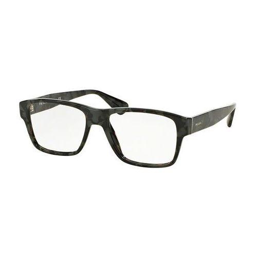 Okulary korekcyjne pr17svf asian fit uem1o1 marki Prada