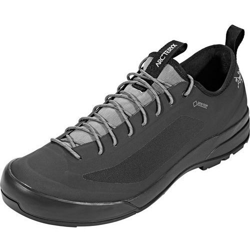 acrux sl gtx buty mężczyźni czarny uk 11 | eu 46 2018 buty podejściowe marki Arc'teryx