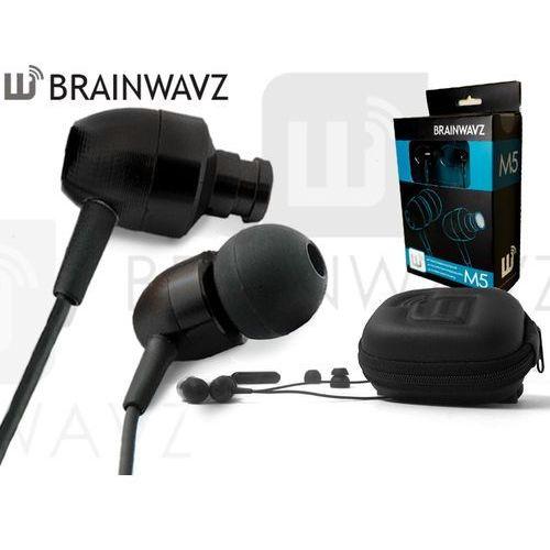 Słuchawki dokanałowe Brainwavz M5 Black
