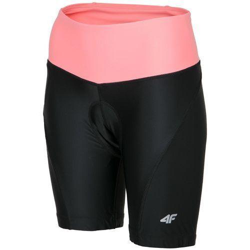 Damskie spodnie rowerowe wkładka l18 rsd001 czarny l marki 4f