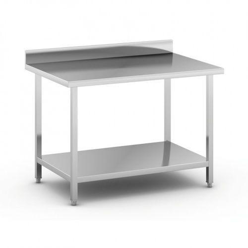 Stół roboczy ze stali nierdzewnej z półką, 1200 x 800 x 850 mm marki B2b partner