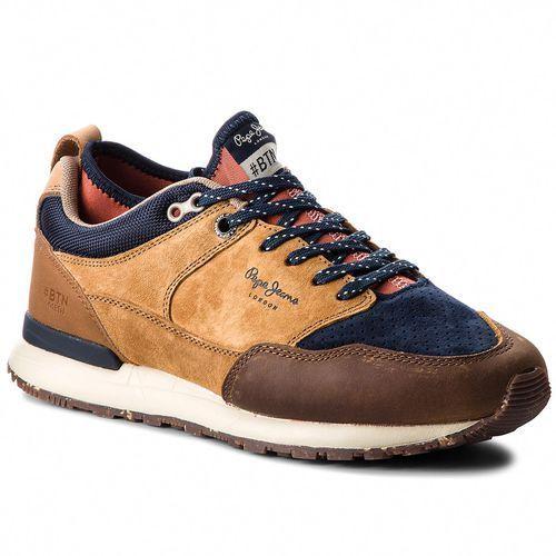 Sneakersy - btn treck lth pack pms30473 tan 869 marki Pepe jeans