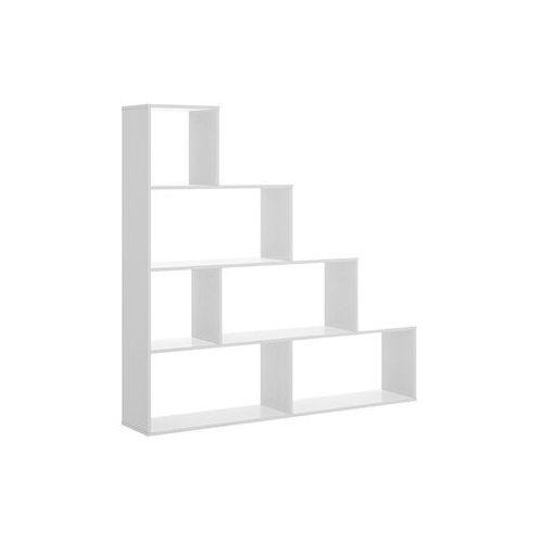 Regał raja - 6 wnęk - kolor: biały marki Vente-unique