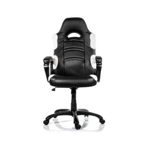 Fotel AROZZI Enzo Czarno-biały