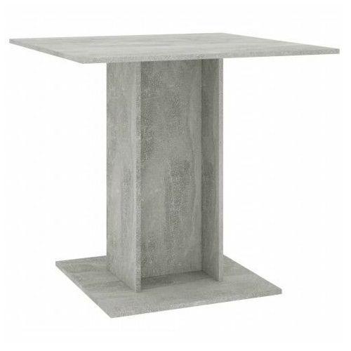 Betonowo-szary stół z płyty meblowej - Marvel