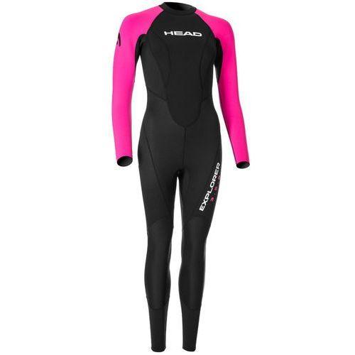 Head Expl**** 3.2.2 Kobiety różowy/czarny XL 2018 Pianki do pływania (0792460261496)